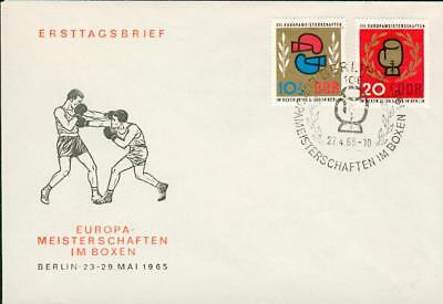 Germany DDR FDC boxing box sports Boxen Sport cu71