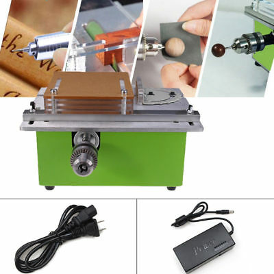 Mini BenchTop Table Saw Blade Woodworking Cutting Polishing Carving Machine New