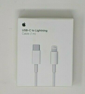 Authentic Apple USB-C to Lightning Cable (1m) MK0X2AM/A Model 1656 - NEW