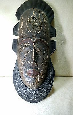 African art wall plaque - handcrafted in Ghana