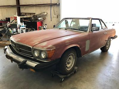 1976 Mercedes-Benz SL-Class Roadster 1976 Mercedes-Benz 450SL Roadster Project