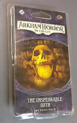 ARKHAM HORROR LCG THE UNSPEAKABLE OATH MYTHOS PACK SEALED