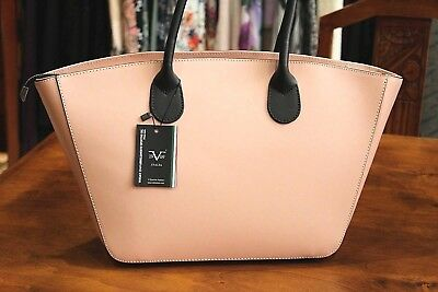 fb622ec8ba VERSACE 19.69 Women s 100% Leather Light Dusty Pink Tote Style Made in Italy