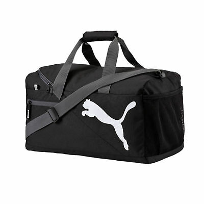 Puma Fundamentals Small Sports Fitness Gym Workout Holdall - Black