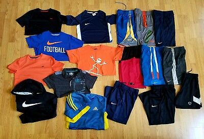 Huge (17)  Lot, Boys Size Youth Small, Nike, Under Armour & More, Free Shipping