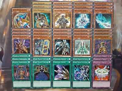 Yugioh Tournament Ready to Play Spellcaster 40 Card Deck Dark Magician Girl NM