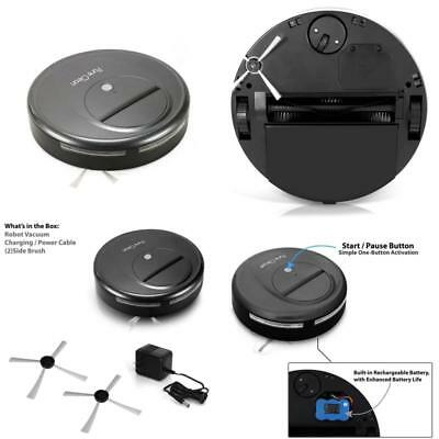 Pyle Upgraded Pure Clean Smart Robot Vacuum Sweeper Cleaner W/ Self-Navigated Au