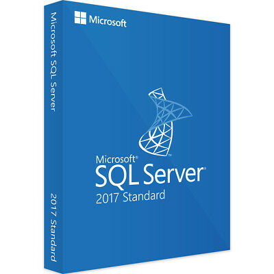 Microsoft SQL Server 2017 Standard - Neu - Vollversion - Download