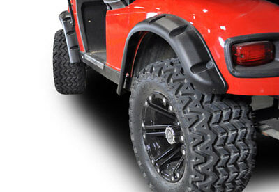 Golf Cart Standard Fender Flares (4 Pcs) For EZGO TXT 96-13 Easy Install