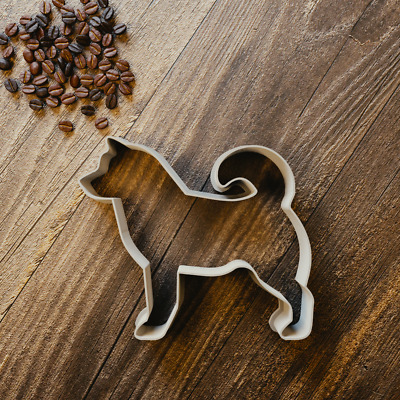 Husky Cookie Cutter - Biscuit Cutter - Fondant Cutter - 3 Sizes - Dog- Animal