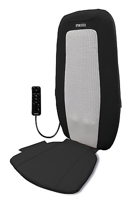 Homedics Extended Track Shiatsu Rolling Heated Massager Chair,  Remote Control