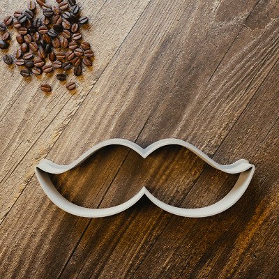 Moustache Cookie Cutter - Fondant, Sugarcraft & Biscuit - Movember