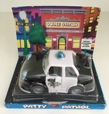 The Chevron Cars Patty Patrol Police Car - Never Played With