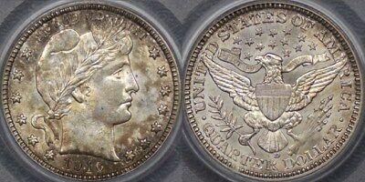 United States of America, 1916 Denver Twenty-five Cent or Quarter - PCGS MS63