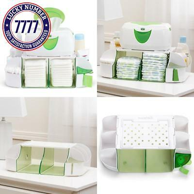 Wipe Warmer Dresser Station Baby Diaper Towel Nappy Bag Milk Organizer Formula
