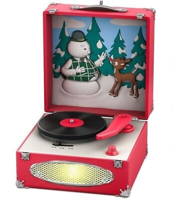 Hallmark 2018 Record Player Magic Ornament