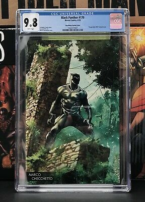Black Panther #170 CGC 9.8 Marco Checchetto Marvel Young Guns Virgin Variant