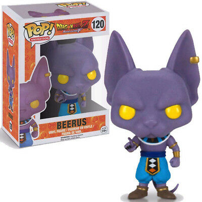 #120Lord  Beerus Pop of Dragon Ball Z Movie 1 PC Anime Figure Gift Toy US