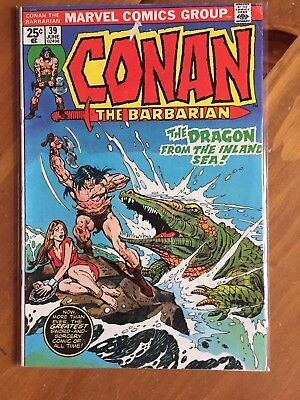Conan the Barbarian #39 (Jun 1974, Marvel)