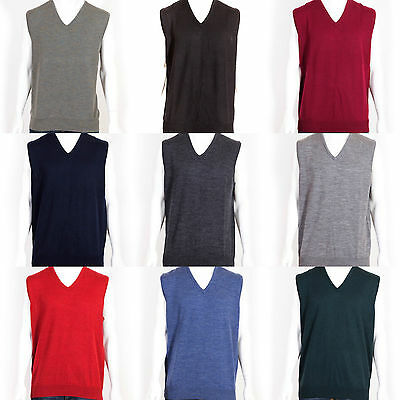 Ansett Australia Machine Washable Pure Wool Sleeveless Vest Knit Knitwear
