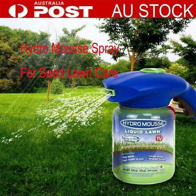 HydroMousse Household Hydro Seeding System Liquid Spray Device F Seed Lawn CarUT