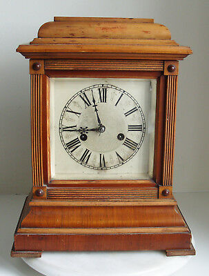 Antique mantle clock made by H.A.C. 14 day Strike early 1900's No 3202 German