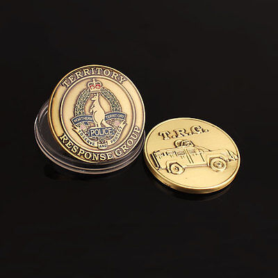 Northern Territory Police Territory Response Group Challenge Coin (social)
