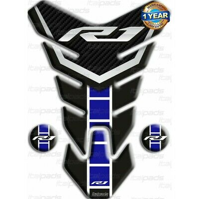 Bleu Tank Gas Pad Knee Fuel Side Grips Protector For MT-07 2013-2016
