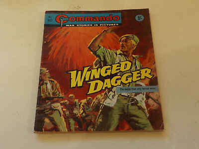 Commando War Comic Number 437,1969 Issue,v Good For Age,49 Years Old,very Rare.
