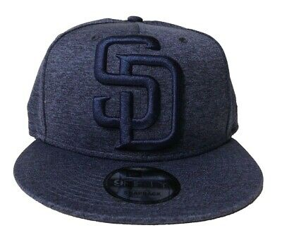 lowest price b1f02 a422c San Diego Padres New Era Mega Tone 9FIFTY Snapback Hat Blue Heather