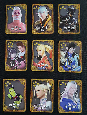 Final Fantasy  VI-XV Triple Triad Card Art Museum Complete Ultra Rare 241 Cards