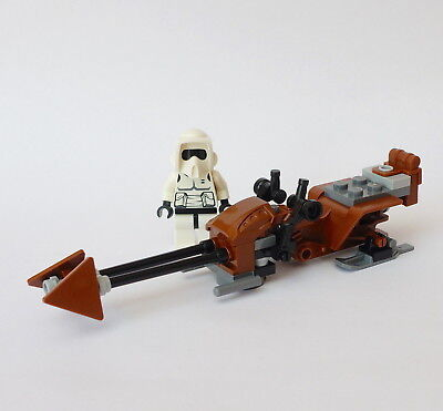 LEGO® Star Wars™ - Scout Trooper + Speeder Bike aus Set 8038 The Battle of Endor