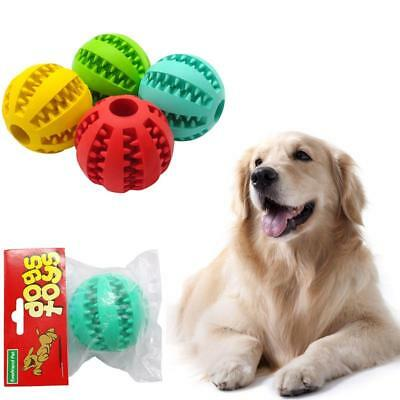 Dog Toys Playing Ball Chew Bite Balls Non-Toxic Tooth Cleaning Tool For Dog Toys