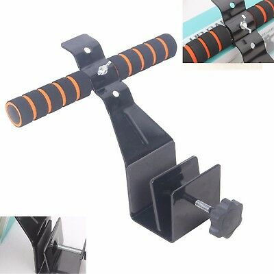 Doorway Sit Up Bar Pull Up Door Bars Muscle Gym Exercise Fitness Training