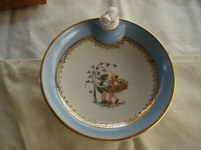 VINTAGE LIMOGE WARMING DISH, probably early 20th Century