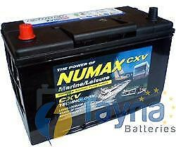 Numax CXV30HMF  Sealed Batterie Camping Bateau   12V 105Ah 1000MCA   500 Cycles
