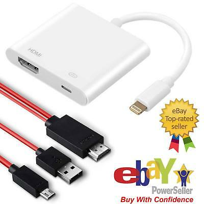 2M MHL TO HDMI Cable For Android | 8 Lightning to HDMI Adapter For iPhone 6 7 8