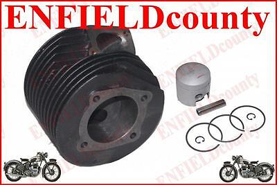 Lambretta Scooter Genuine Cylinder Head With Piston Set Assembly Gp200 Sx200