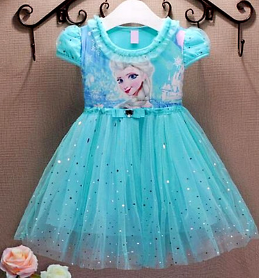 Dress Princess Toddler Costume Girls Fancy Up Birthday Party Tulle Dresses Pick