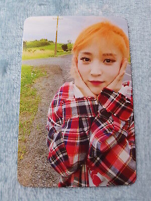 10)MAMAMOO 6nd mini Album Yellow Flower Starry Night Moonbyul PhotoCard K-POP