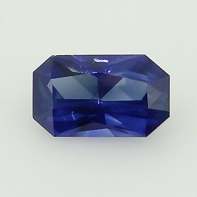 custom cut royal blue sapphire unheated 0.61ct Genuine Loose Gemstones NR