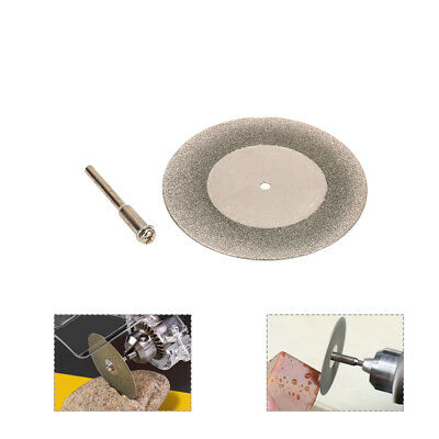 "50mm 2 Inch Mini Diamond Cutting Disc Saw Blade for Glass Rotary Tool 1/8"" Shank"
