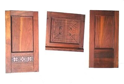 Vintage Wall Panels Repurpose Doors Mantels Entryway Mantles Interior Accents