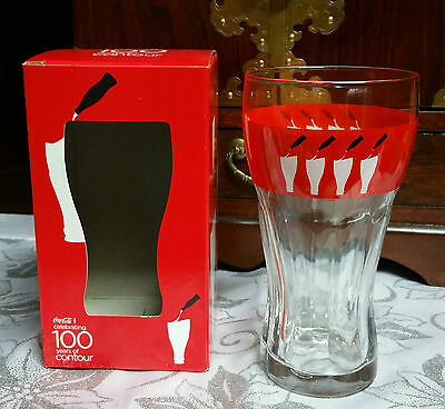 Coca Cola Glass 100 Years Of Contour