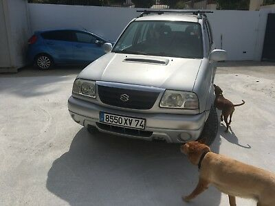 Left Hand Drive In Spain French Plated Suzuki Grand Vitara Diesel In Marbella