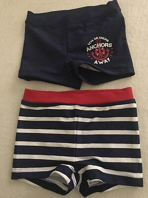 Mother Care Boys Twins Swimming Bottoms 9-12 Months