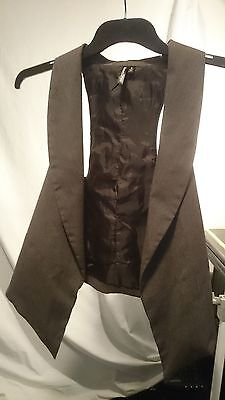 Glassons Ladies Waistcoat in Tawny Size 6