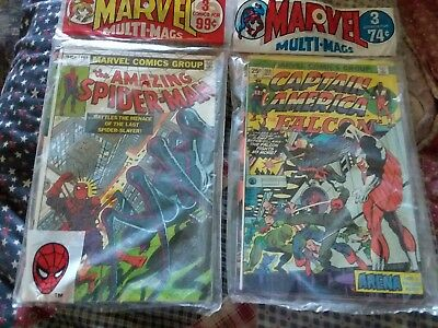 (2)Marvel Multi-Mags