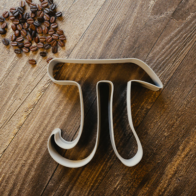 Pi Cookie Cutter - Fondant & Biscuit - 3 Sizes - Maths Teacher Pi Day