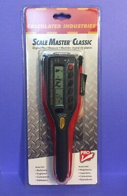 Calculated Industries Scale Master Classic -New, Free Shipping -